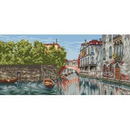Online pattern - Venetian landscape