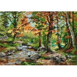 Online pattern - Autumn forest