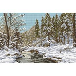 Online pattern - The river in the winter