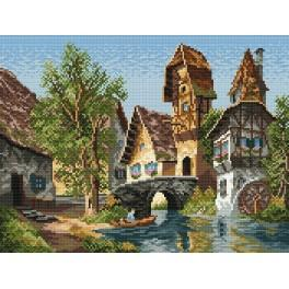 Online pattern - Charming town
