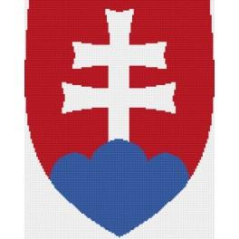 Online pattern - Slovakian Coat of Arms