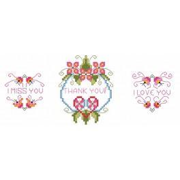 Online pattern - Love telegrams