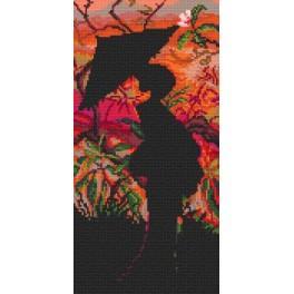 Online pattern - Geisha - Dusk