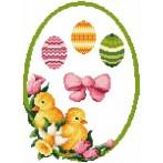 Online pattern - Decoration with easter eggs - B. Sikora-Malyjurek