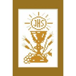 W 4443 Online pattern - Holy communion card - B. Sikora