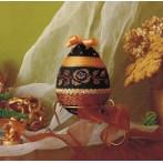 Online pattern - Decorative egg with golden rose - B. Sikora