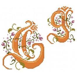 Online pattern - Monogram G - B. Sikora-Malyjurek