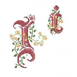 Online pattern - Monogram I - B. Sikora-Malyjurek