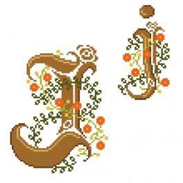 Online pattern - Monogram J - B. Sikora-Malyjurek