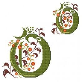 W 4477-16 Online pattern - Monogram O - B. Sikora-Malyjurek