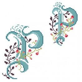 W 4477-17 Online pattern - Monogram P - B. Sikora-Malyjurek