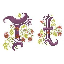 W 4477-20 Online pattern - Monogram T - B. Sikora-Malyjurek