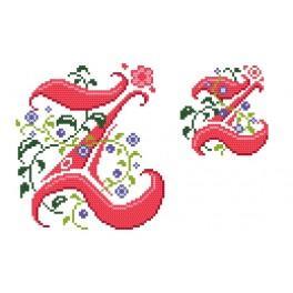 W 4477-26 Online pattern - Monogram Z - B. Sikora-Malyjurek