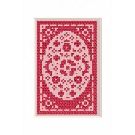 Online pattern - Easter Card - Hare - B. Sikora