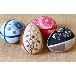 Online pattern - Shaded easter egg - B. Sikora-Malyjurek