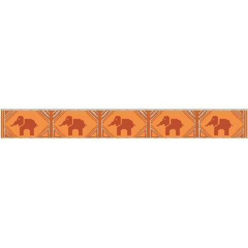 W 4573 Online pattern - Towel with elephants