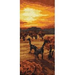 Online pattern - Sunset - B. Sikora