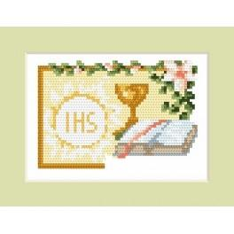W 4602-01 Online pattern - Invitation on holy communion