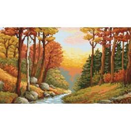 Online pattern - Autumn stream - B. Sikora