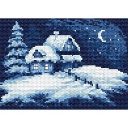 Online pattern - Freezy night - B. Sikora