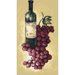 Online pattern - Red wine - B. Sikora-Malyjurek