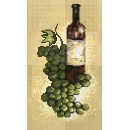 Online pattern - White vine - B. Sikora-Malyjurek