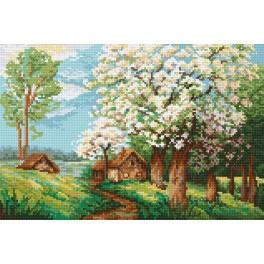 Online pattern - Spring orchard