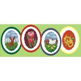 Online pattern - Easter decoration