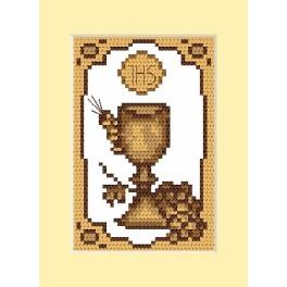 W 4658-02 Online pattern - Holy communion card