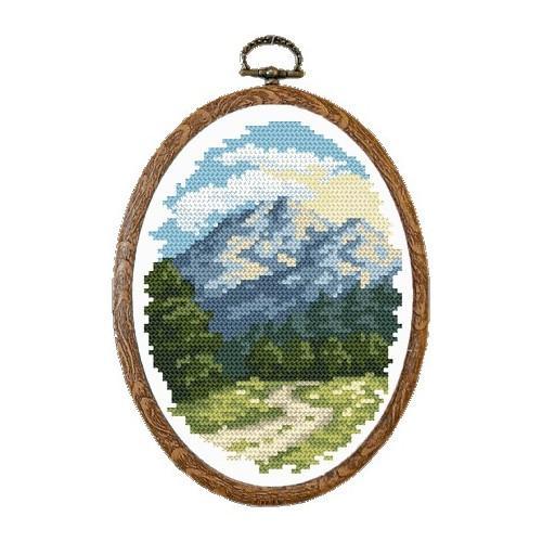 Online pattern - Sunny Alps