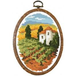 Online pattern - Hot Tuscany