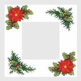 Online pattern - Christmas napkin - B. Sikora-Małyjurek