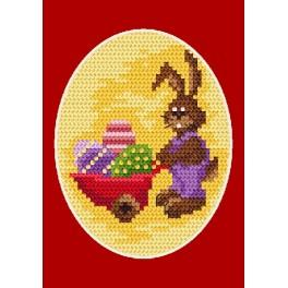 Online pattern - Easter postcard