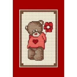 Online pattern - Occasional card - Teddybear