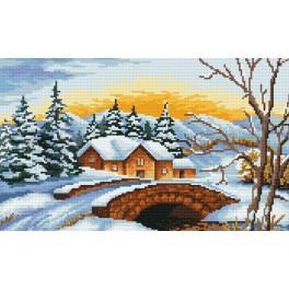 Online pattern - Winter morning