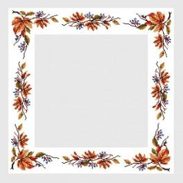 Online pattern - Table-cloth with vine