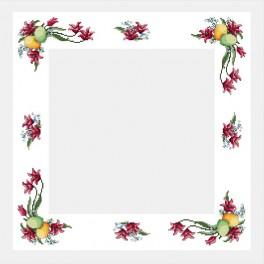 Online pattern - Easter table-cloth