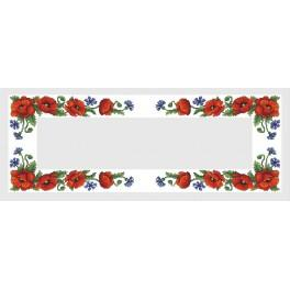 Online pattern - Runner with wild flowers