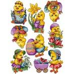 Online pattern - Easter chicks