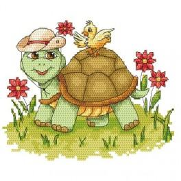 Online pattern - Funny turtle