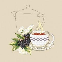 Online pattern - Elderberry tea