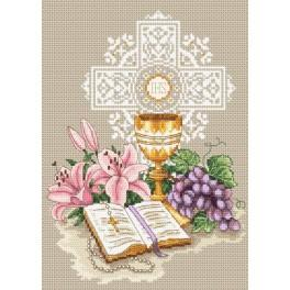 W 4958 Online pattern - In rememberance of First Communion