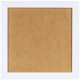 S 157005-13,2x13,2 Wooden frame - white colour (13,2x13,2cm)