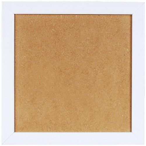 Wooden frame - white colour (21x21cm)