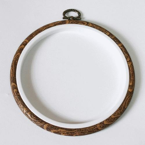 915-06 Embroidery hoop-frame circle 15 cm