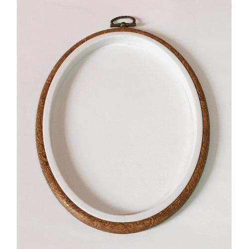 Embroidery hoop-frame oval 20 x 26 cm