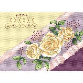 W 4956-02 ONLINE pattern pdf - Invitation - Roses