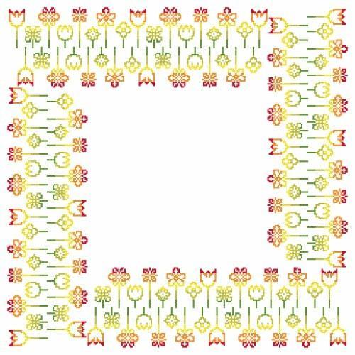 Pattern online - Napkin - Spring inspiration
