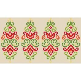 Pattern online - Pisanka - kolorowa arabeska