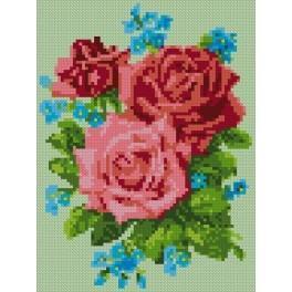 Roses - Cross Stitch pattern